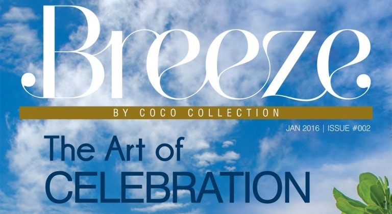 Breeze Issue 2, The Art of Celebration